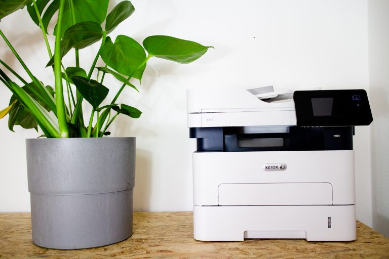 Scanner and printer available for members to use